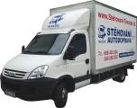Stěhování a autodoprava vozidlem Iveco 19 m3 skříň (Daily 35C15)