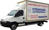 Stěhování a autodoprava vozidlem Iveco 20 m3 skříň (Daily 35C15)