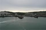 Dover - odjezd z přístavu