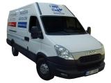 Stěhování a autodoprava vozidlem Iveco Daily 12 m3 (furgon).