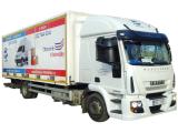 Stěhování a autodoprava vozidlem Iveco 42 m3 skříň (EuroCargo ML120E25)